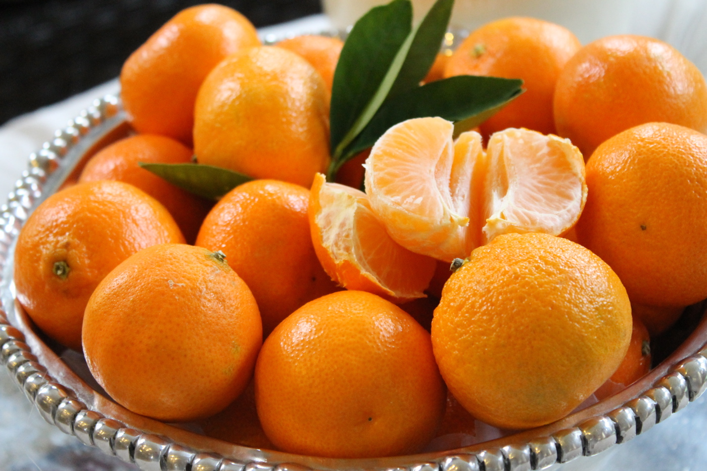 mandarin close up
